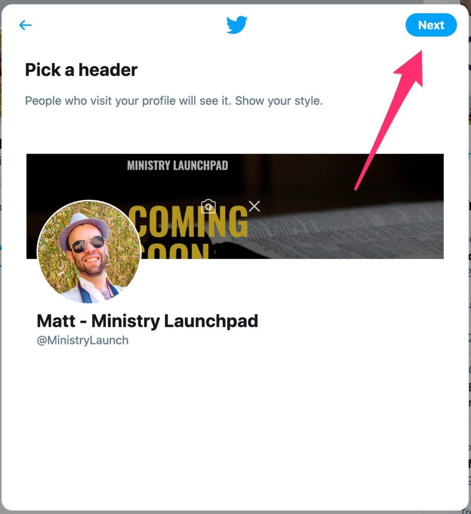 Twitter Header Preview